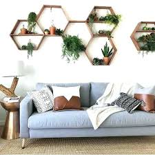 hexagon wall decor mirror wall stickers geometric hexagon acrylic wall sticker home