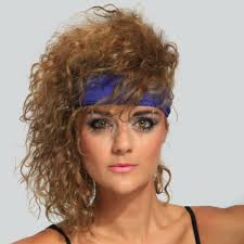 a mon trend for 80 s kids the higher the pony tail the bigger the scrunchie the more you are reminded of the 80 s