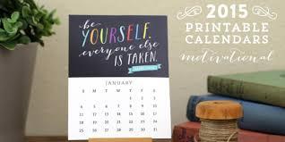 Desk Calendar Printable Free Printable Motivational Desk Calendar