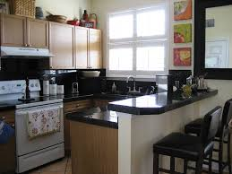 Kitchen:White Kitchens Cabinet With Black Appliances In U Shaped Kitchen  Idea U Shape Of