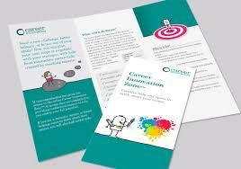 dam design creative print design career innovation zone leaflet for career development client career innovation