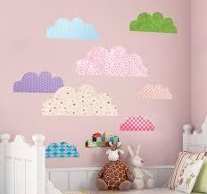Wandtattoo Wolken Kinderzimmer Tenstickers