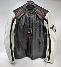 genuine victory motorcycle cascade leather riding jacket womens medium 286373503