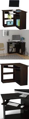 ebay home office. Desks And Home Office Furniture 88057: Espresso Corner Student Desk Space Saving Computer College Ebay G