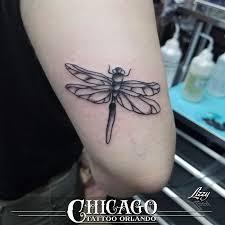 Lizzy Dragonfly Arm Tattoo Chicago Tattoo Orlando Chicago Tattoo Co