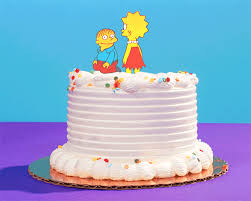 New Trending Gif Tagged The Simpsons Birthday Cake Trending Gifs