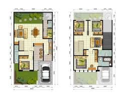 30 desain denah rumah minimalis tipe 60 terbaru
