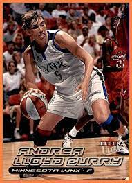 2000 Ultra WNBA #40 Andrea Lloyd Curry RC ROOKIE MINNESOTA LYNX TEXAS LADY  LONGHORNS at Amazon's Sports Collectibles Store