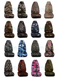 solid color car seat covers front semi custom black gray brown