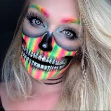 celebrate day of the dead with these sugar skull makeup ideas
