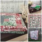 Ручное шитье лоскутного одеяла 4