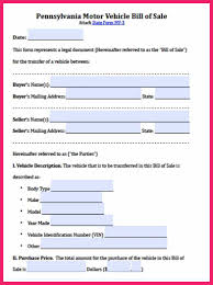 bill of sale letter motor vehicle bill of sale bio letter format