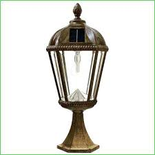 paradise solar lighting lighting royal bulb series outdoor weathered bronze integrated led solar powered post light