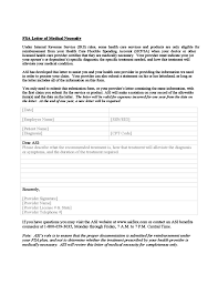 Letter Of Medical Necessity Form Fascinating FSA Letter Of Medical Necessity Form Free Download