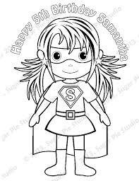 Small Picture Superheroes Coloring Pages AZ Coloring Pages Female Superhero