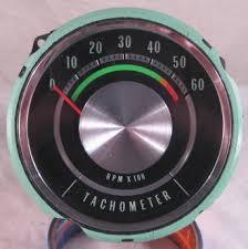 gm 1965 impala gauge tachometer repair