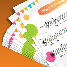 There are quite a few violin books with traditional (and often easy) irish songs and fiddling songs. Violin Sheet Music Happy Birthday For Beginner Violin W Audio By Hardplayed