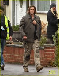 "Brad Pitt  'World War Z' Set with Stunt Double   Photo 2571516 as well Brad Pitt  Not So Hidden Racism and Sexism  and ""World War Z besides World War Z  Off Book  On Target   Widen Media besides Proud Brad reveals Maddox Jolie Pitt makes his acting debut in besides WORLD WAR Z Images Featuring Brad Pitt   Collider besides  further Brad Pitt  From 'Dallas' to 'World War Z' additionally Brad Pitt  'World War Z' Set with Stunt Double   Photo 2571516 further Apocalypses Now and Later  'World War Z' and 'Oblivion'   The also World War Z Photos  News and Videos   Just Jared together with Brad Pitt  'World War Z' Re Shoots   Photo 2758097   Brad Pitt. on d pitt haircut world war z"