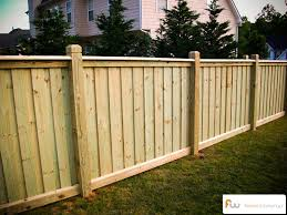 The Spartan Wood Privacy Fence