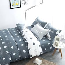 cotton twin bed sheets bedding sets black and white star print cotton twin double queen duvet cover bed sheet pillows for boys boyfriend in bedding sets