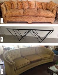 Vegas CL vintage sofas and table