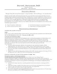 entry level biology resume printable large size - Biology Resume Examples