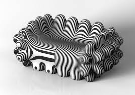 Unique Sofa For Your Lovely Room With Zebra Design Furniture Picture