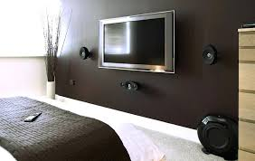 cool flat screen tv with wall mount flat screen wall mounts with best home theater speakers