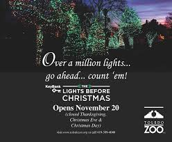 Toledo Lights Before Christmas Coupons Ryan Terry The Toledo Zoo Misc Ads Signage