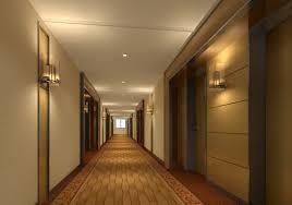 hotel hallway lighting. 3D View Corridor Wall Light Hotel Hallway Lighting N