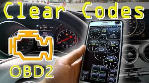 Check Engine Light Adapter How To Reset Check Engine Light Clear Codes With Smartphone App Obd2 Bluetooth Adapter