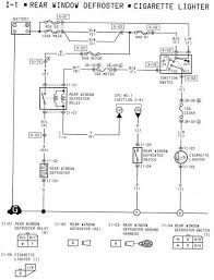 all about wiring diagrams 1994 mazda rx 7 rear window defroster and cigarette lighter wiring diagram