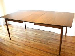modern dining table with leaf mid century modern dining table with leaf and set of