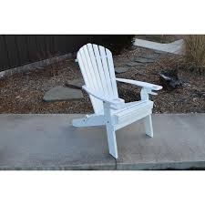 AL Furniture Co Folding Adirondack Chair wCupholders Rocking