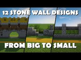 minecraft wall designs. 12 Awesome Wall Designs \u2013 Minecraft