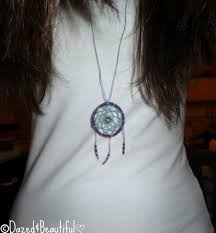 Dream Catcher Necklace Diy DIY Dreamcatcher Necklace – DazedBeautiful 1
