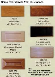 cabinet doors and drawer frontsWoodmont Slab Style Wood Drawer Fronts  Eclecticware