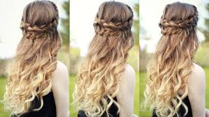 Hairstyles For Prom Half Up Half Down With Braids Korhekorg The