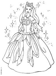Small Picture Barbie Coloring Pages Game Coloring Pages