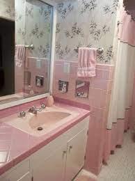 pink bathroom wall decor fresh 36 retro