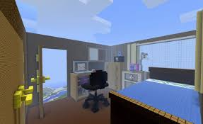 Minecraft Furniture Bedroom How To Make A Modern Bedroom In Minecraft 11 Home Decoration