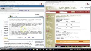 Cite Online Scholarly Journal Article In Mla With Knightcite