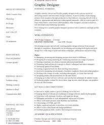 Graphic Designer Cv Sample Resume Layout Curriculum Vitae With