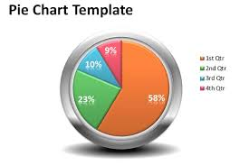 Excel Chart Template Download Free Free Creative Pie Chart Template For Powerpoint Presentations