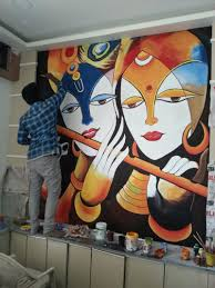 mural wall painting in hyderabad