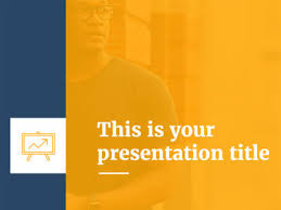 Blue And Gold Powerpoint Template Free Yellow Powerpoint Templates And Google Slides Themes