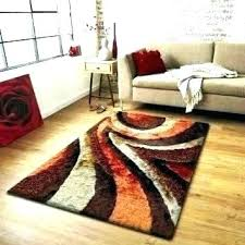 black and orange rug burnt red brown area rugs great white