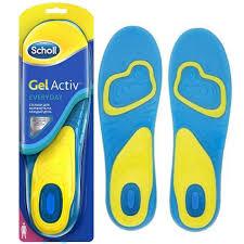 Купить Гелевые <b>стельки Scholl GelActiv</b> ежедневные, женские ...