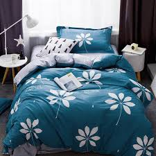 ivarose new soft cotton bedding set flat bed sheets pillowcase juego de cama bed linens leaf duvet cover twin size sets bedding set 100 cotton