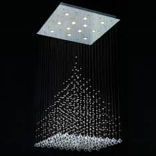 crystal light chandelier classy best modern crystal chandeliers chandelier lighting design magnificent image of linear outdoor